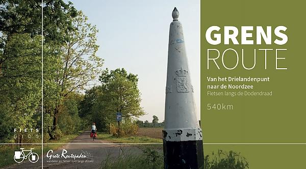 De Grensroute | fietsroute langs de Belgisch-Nederlands grens 9789492608079  Grote Routepaden   Fietsgidsen, Meerdaagse fietsvakanties Vlaanderen & Brussel