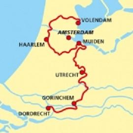 LAW-17 Waterliniepad 9789492641076  Wandelnet LAW-Gidsen  Meerdaagse wandelroutes, Wandelgidsen West Nederland