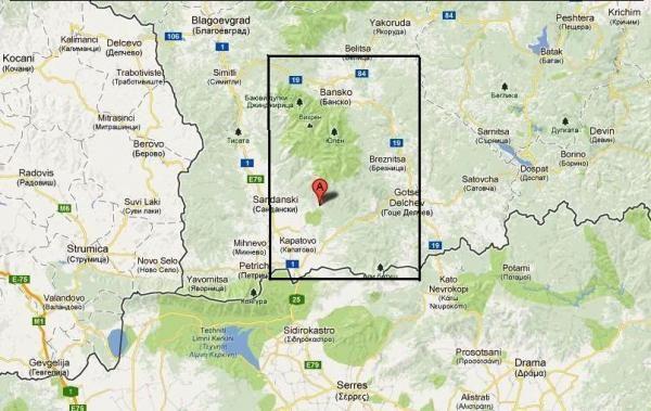 Piringebergte | wandelkaart 1:50.000 9789546511386  Domino   Wandelkaarten Bulgarije