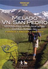 Melado Volcan San Pedro 1:50.000 9789568925031  Viachile Editores Trekking Maps  Wandelkaarten Chili, Argentinië, Patagonië