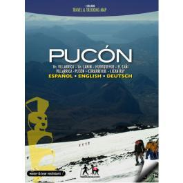 Pucón 1:100.000 9789568925048  Viachile Editores Trekking Maps  Wandelkaarten Chili, Argentinië, Patagonië
