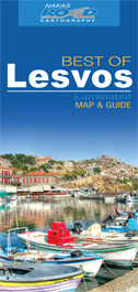 Lesbos (Lesvos) 1:125.000 9789604489824  Road Editions Ltd. Greek Islands  Landkaarten en wegenkaarten Egeïsche Eilanden