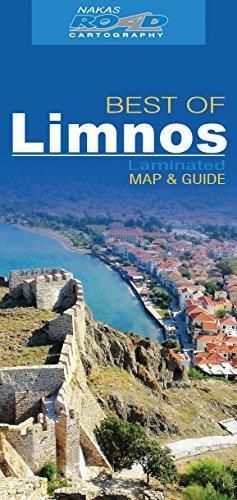 RE-213 Lemnos 1:75.000 9789605810306  Road Editions Ltd. Greek Islands  Landkaarten en wegenkaarten Egeïsche Eilanden