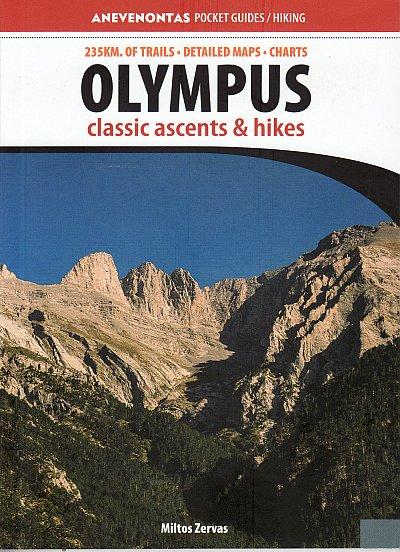 Olympus Classic Ascents & Hikes 9789608868366 Miltos Zervas Anavasi   Klimmen-bergsport, Wandelgidsen Midden en Noord-Griekenland, Athene