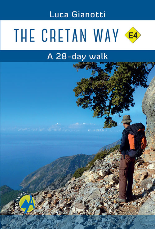 The Cretan Way E4 9789609412452  Anavasi   Wandelgidsen Kreta