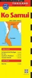 Ko Samui/ South Thailand 9789625939933  Periplus Periplus Travel Maps  Landkaarten en wegenkaarten Thailand