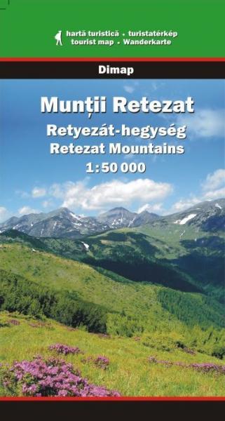 DMP-12  Muntii Retezat | wandelkaart 1:50.000 9789630031257  Dimap Wandelkaarten Roemenië  Wandelkaarten Roemenië, Moldavië