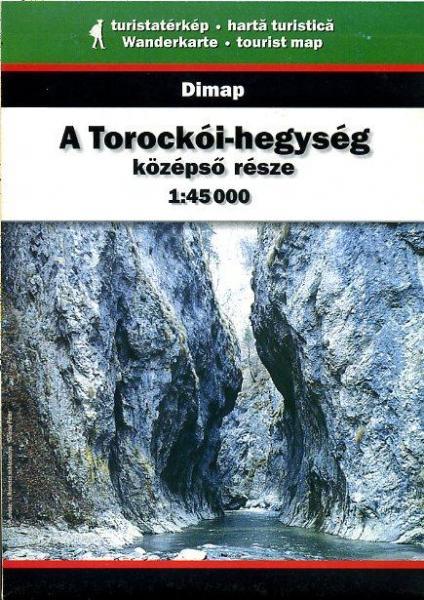 DMP-09  Muntii Trascau Tordai Hasadik | wandelkaart 1:45.000 9789630031264  Dimap Wandelkaarten Roemenië  Wandelkaarten Roemenië, Moldavië