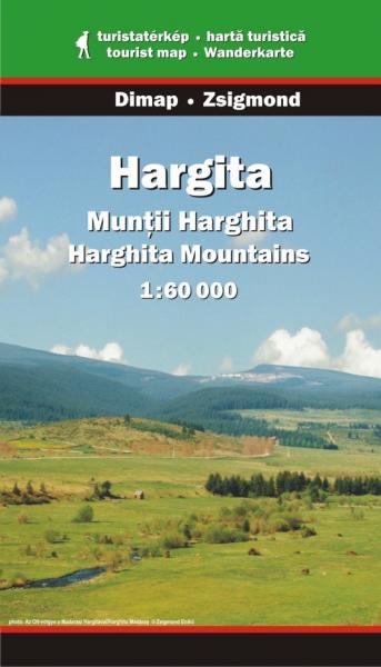 DMP-07  Harghita | wandelkaart 1:60.000 9789630363631  Dimap Wandelkaarten Roemenië  Wandelkaarten Roemenië, Moldavië
