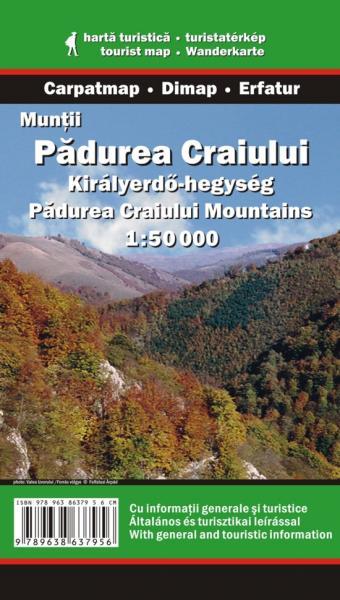 DMP-22  Padurea Craiului | wandelkaart 1:50 000 9789638637956  Dimap Wandelkaarten Roemenië  Wandelkaarten Roemenië, Moldavië
