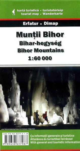 DMP-24  Muntii Bihor Mountains Map | wandelkaart 1:60.000 9789638637987  Dimap Wandelkaarten Roemenië  Wandelkaarten Roemenië, Moldavië