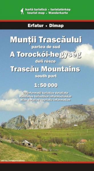DMP-10  Muntii Trascaului Middle + South | wandelkaart 1:45.000 9789638683458  Dimap Wandelkaarten Roemenië  Wandelkaarten Roemenië, Moldavië