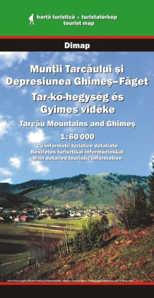 DMP-28  Tarcaului Mountains Map | wandelkaart 1:60.000 9789638683465  Dimap Wandelkaarten Roemenië  Wandelkaarten Roemenië, Moldavië