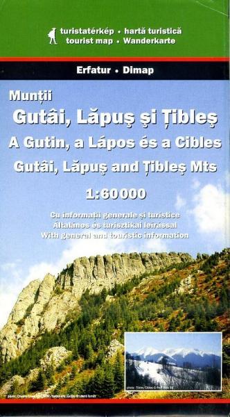 DMP-29  Gutai, Lapus and Tibles Mountains | wandelkaart 1:60.000 9789638683472  Dimap Wandelkaarten Roemenië  Wandelkaarten Roemenië, Moldavië
