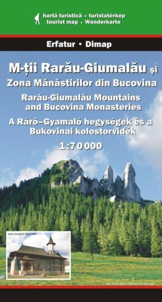 DMP-30  Munti Rarau-Giumalau | wandelkaart 1:70.000 9789638683496  Dimap Wandelkaarten Roemenië  Wandelkaarten Roemenië, Moldavië