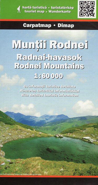 DMP-15  Munti Rodnei | wandelkaart 1:50 000 9789638845498  Dimap Wandelkaarten Roemenië  Wandelkaarten Roemenië, Moldavië
