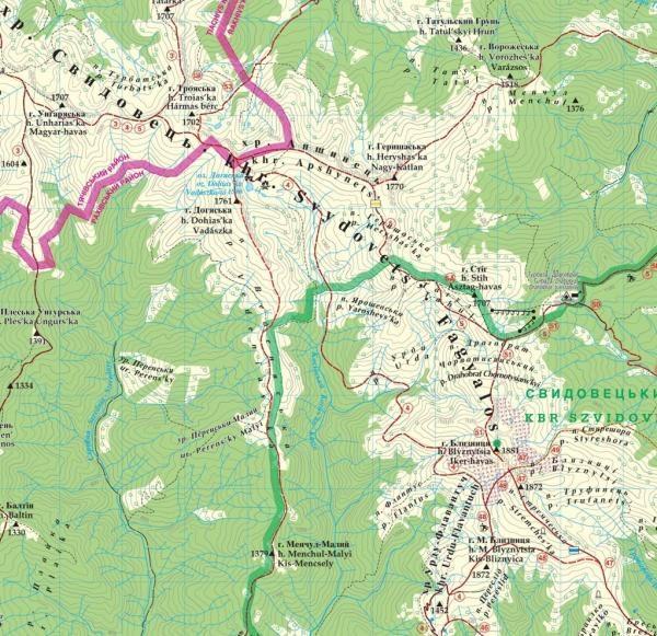 Maramures (East Carpathians) | wandelkaart 1:50.000 9789639251519  Dimap   Wandelkaarten Oekraïne