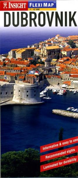 Dubrovnik 9789812583291  APA Flexi Maps  Stadsplattegronden Kroatië