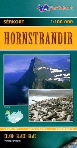 LI-F  Hornstrandir 1:100.000 9789979672036  Landmaelingar Islands Special Maps  Wandelkaarten IJsland