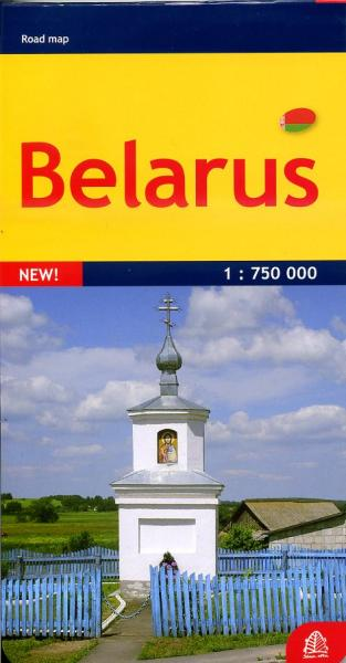 Belarus (Wit-Rusland) 1:750.000 9789984075945  Jana Seta   Landkaarten en wegenkaarten Wit-Rusland