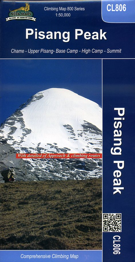 Pisang Peak 1:50.000 (Annapurna Region) 9789993323044  Himalayan MapHouse Wandelkaarten Nepal  Wandelkaarten Nepal