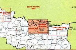Rolwaling and Solokhumbu 1:125.000 9789993360179  Himalayan MapHouse   Landkaarten en wegenkaarten Nepal