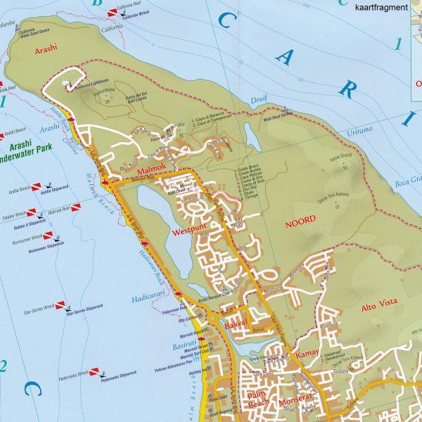 Aruba 1:28.000 9791095793014  Kaprowski Maps   Landkaarten en wegenkaarten Aruba, Bonaire, Curaçao