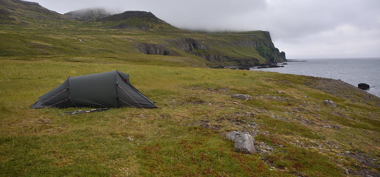 Wandelen in IJsland kamperen