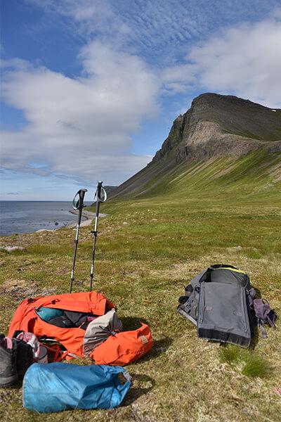 Uitrusting wandelen vakantie IJsland