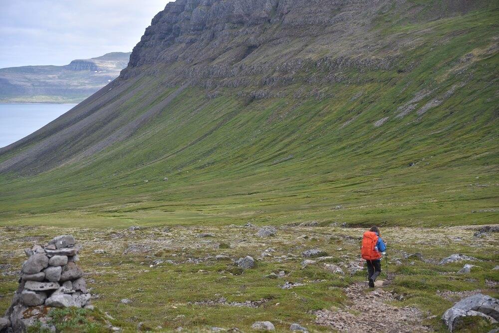 22 kilometer wandelen op IJSland