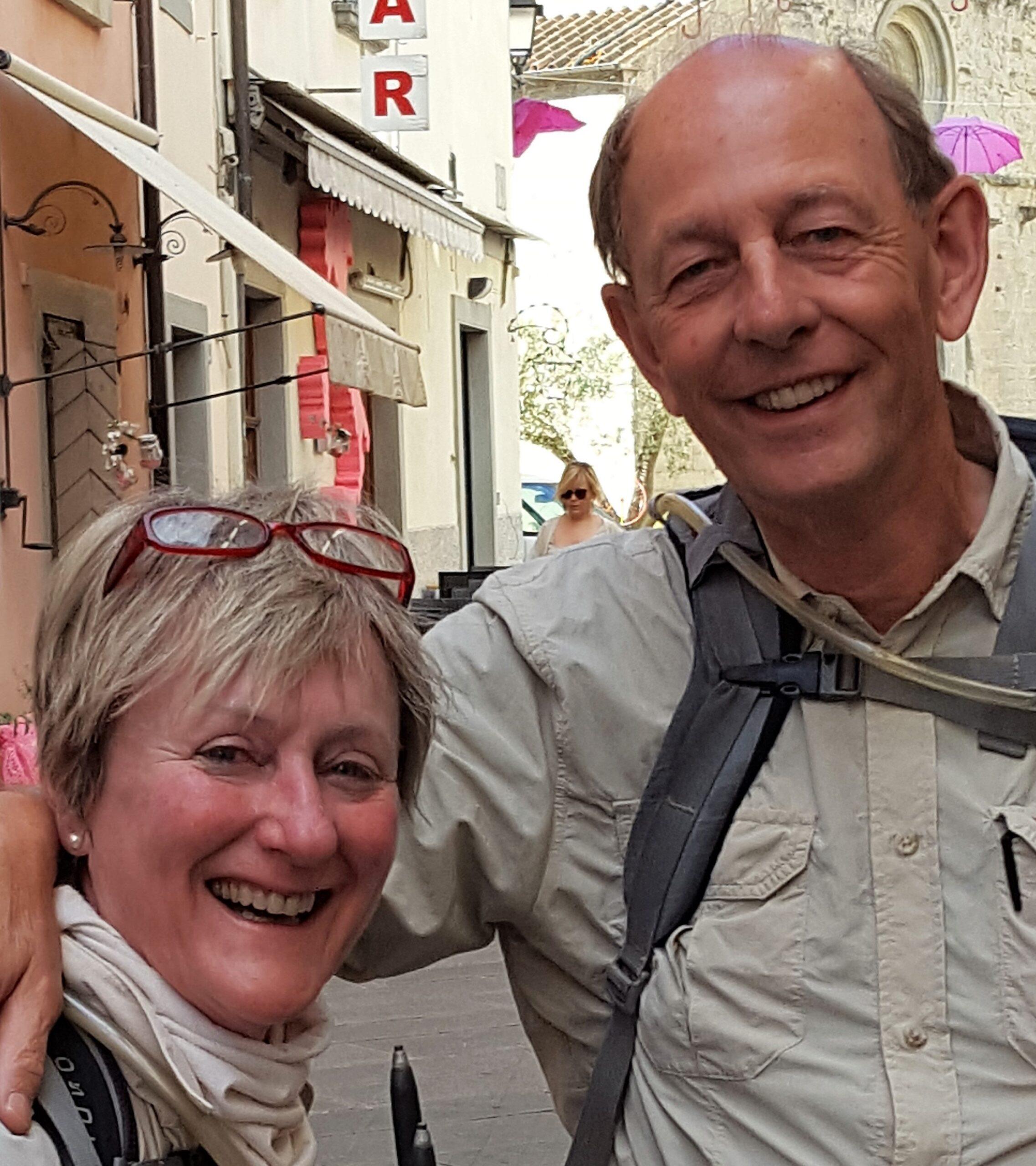 Guus Wesselink en Riet van Laake